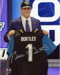 Blake Bortles Autographed Jacksonville Jaguars Draft Day Photo - 8x10
