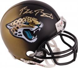 Blake Bortles Autographed Mini Helmet - Jacksonville Jaguars
