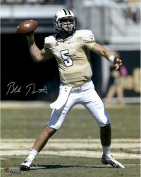 "Blake Bortles UCF Knights Autographed 16"" x 20"" Gold Uniform Passing Photograph"