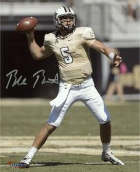 "Blake Bortles UCF Knights Autographed 8"" x 10"" Gold Uniform Passing Photograph"
