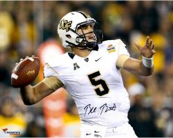 "Blake Bortles UCF Knights Autographed 16"" x 20"" Horizontal Throwing Photograph"
