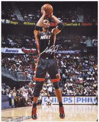 "Chris Bosh Miami Heat Autographed 16"" x 20"" Photograph - Mounted Memories"