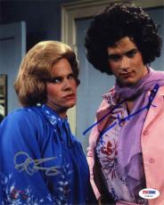 Bosom Buddies Cast Hanks and Scolari Autographed Signed 8x10 Photo PSA/DNA COA