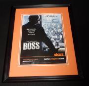 Boss 2011 Starz Framed 11x14 ORIGINAL Vintage Advertisement Kelsey Grammer
