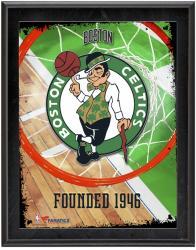 "Boston Celtics Team Logo Sublimated 10.5"" x 13"" Plaque"