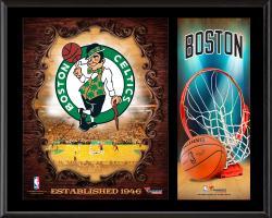 "Boston Celtics Sublimated 12"" x 15"" Team Logo Plaque"