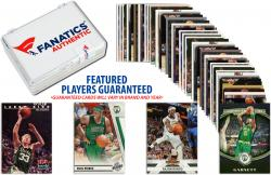 Boston Celtics Team Trading Card Block/50 Card Lot - Mounted Memories