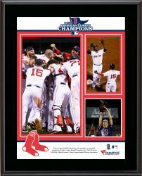 Boston Red Sox 2013 American League Champions Sublimated 10.5'' x 13'' Plaque - Mounted Memories