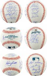 Boston Red Sox 2013 World Series Champions Team Autographed Baseball with 20 Signatures