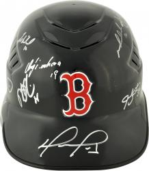 Boston Red Sox 2013 World Series Champions Team Autographed Batting Helmet with 20 Signatures