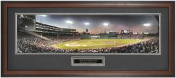 Boston Red Sox Rivalry at Fenway Game 3 ALCS 1999 Framed Unsigned Panoramic Photograph with Suede Matte - Mounted Memories