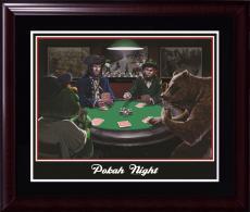 Boston Sports Poker pokah night 16x20 photo framed Red Sox Celtics Patriots