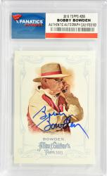 Bobby Bowden Florida State Seminoles Autographed 2013 Topps A&G #255 Card
