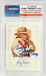 Bobby Bowden Florida State Seminoles 2013 Topps A&G#255 Card with 93 & 99 Natl Champs Inscription
