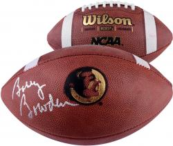 Bobby Bowden Florida State Seminoles Autographed Logo Football