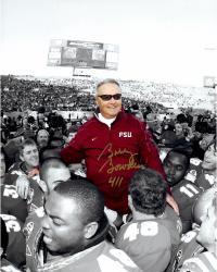 Fanatics Authentic Autographed Bobby Bowden Florida State Seminoles 16'' x 20'' On Shoulders Photograph