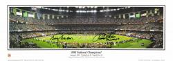 Fanatics Authentic Autographed Chris Weinke, Bobby Bowden Florida State Seminoles 10'' x 30'' Photograph with 99 Champs Inscription