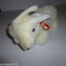 Bows The White Bunny Rabbit Ty Beanie Buddy Baby Plush Stuffed Animal