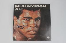 "Boxing Legend – Muhammad Ali Signed ""I'm The Greatest!"" Record Album – JSA"