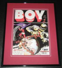 Boy Comics #10 Iron Jaw Framed Cover Photo Poster 11x14 Official Repro