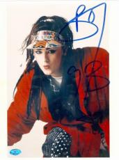 Boy George autographed 8x10 Photo (Culture Club)
