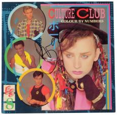 Boy George Autographed Culture Club Colour By Numbers Album Cover - PSA/DNA COA