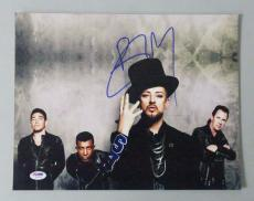 Boy George Autographed/Signed 11x14 Photo (PSA DNA)