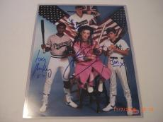 Boy George Culture Club 4 Sigs Td/holo Signed 11x14 Photo