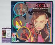 Boy George Culture Club Signed Colour By Numbers Record Album Jsa K42128