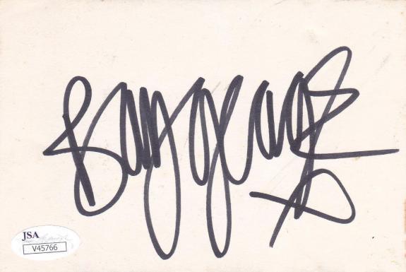 BOY GEORGE Signed 4X6  Card Singer/Karma Chameleon JSA V45766