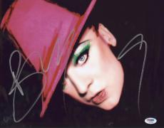 Boy George Signed Authentic Photo 11x14 Psa/dna Z66892