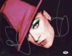 Boy George Signed Authentic Photo 11x14 Psa/dna Z71736