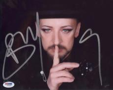 Boy George Signed Authentic Photo 8x10 Psa/dna Z71839