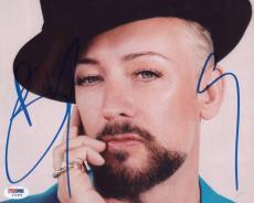 Boy George Signed Authentic Photo 8x10 Psa/dna Z71895