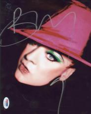 Boy George Signed Authentic Photo 8x10 Psa/dna Z71903