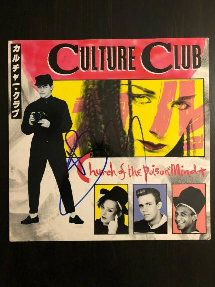 Boy George Signed Autograph - Vinyl Album Record Lp - Culture Club