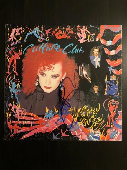 Boy George Signed Autograph - Vinyl Album Record Lp - Culture Club
