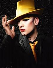 Boy George Signed - Autographed Culture Club 11x14 Photo