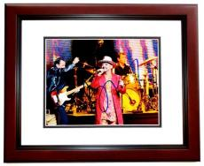 Boy George Signed - Autographed Culture Club 8x10 inch Photo MAHOGANY CUSTOM FRAME - Guaranteed to pass PSA or JSA