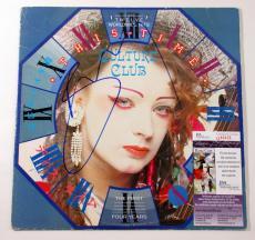 Boy George Signed LP Record Album Culture Club This Time w/ JSA AUTO