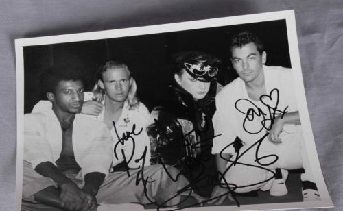Boy George Signed Photo Culture Club – COA