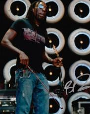 Boyd Tinsley Autographed Dave Matthews Band Concert 8x10 Photo