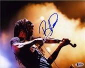 Boyd Tinsley Dave Matthews Autographed Signed 8x10 Photo Beckett BAS COA