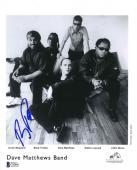 Boyd Tinsley Dave Matthews Promo Autographed Signed 8x10 Photo Beckett BAS COA