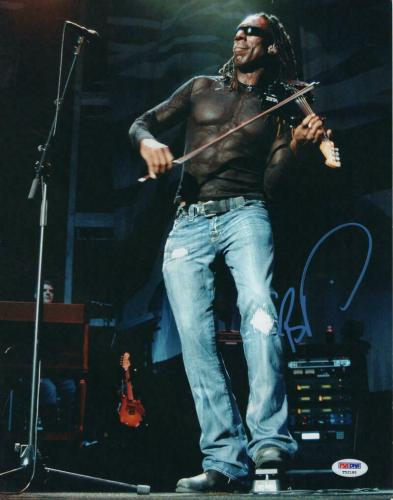 Boyd Tinsley Signed Autograph 11x14 Photo - Rock And Roll Dave Matthews Band Psa