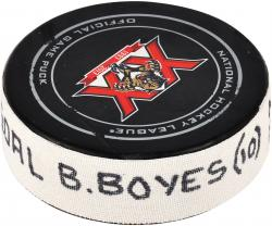 Brad Boyes Florida Panthers 12/31/13 Game-Used Goal Puck vs. New York Rangers