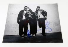 Boys II Men Signed 11 x 14 B & W Photo Pose #7 3 Autos