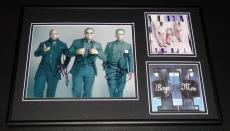 Boyz II Men Group Signed Framed 12x18 Photo & CD Display II JSA