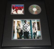 Boyz II Men Group Signed Framed 16x20 Photo & CD Display JSA Cooleyhighharmony