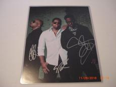Boyz Ii Men Ill Make Love To You,motown Philly 3 Sigs Td/holo Signed 11x14 Photo
